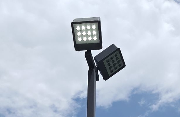 led tennis light example